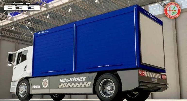 Os veículos serão equipados com motor elétrico de 355cv e autonomia de 130 quilômetros