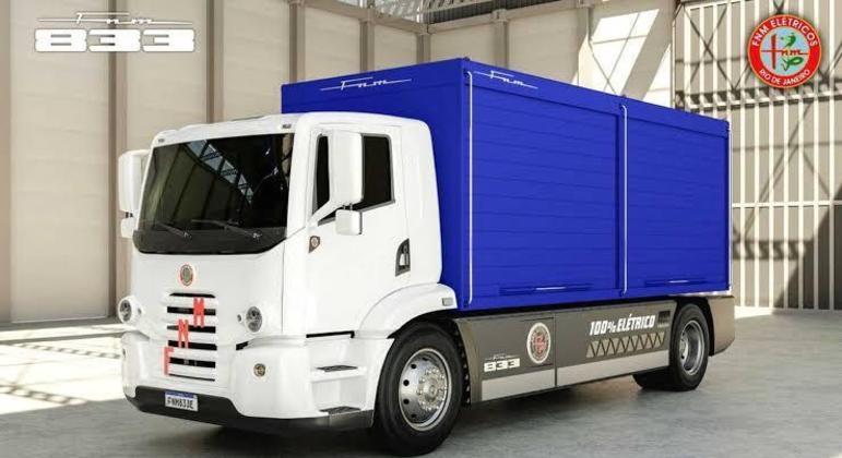 A empresa promete um veículo tecnológico equipado com sistemas de alerta de mudança de faixa
