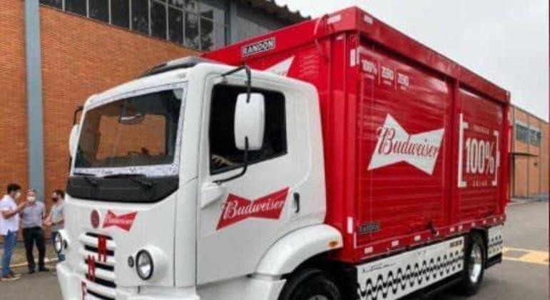 Além da FNM a Ambev já encomendou 1600 caminhões da linha e-Delivery que serão produzidos em Resende (RJ)