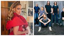 J-Lo e Foo Fighters farão show para financiar vacinas contra covid