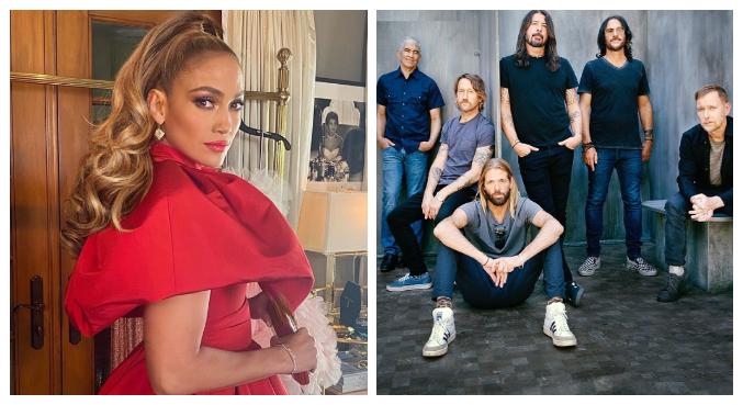 JLo e Foo Fighters vão se apresentar no próximo dia 8 de maio