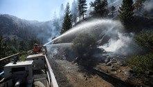 EUA têm 22 mil bombeiros combatendo incêndios florestais