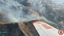 Incêndio devasta a Chapada dos Guimarães desde quinta-feira