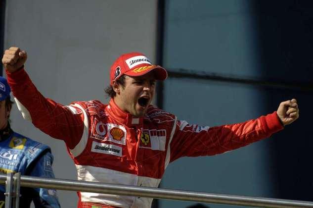 Foi a primeira vitória de Massa na Fórmula 1.