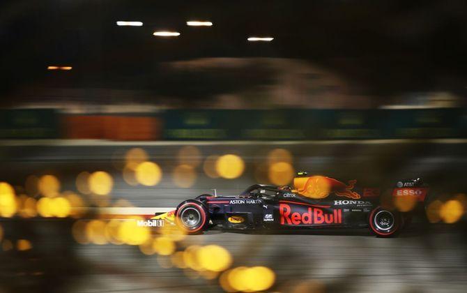 Foi no Bahrein onde Albon somou os primeiros pontos na F1.