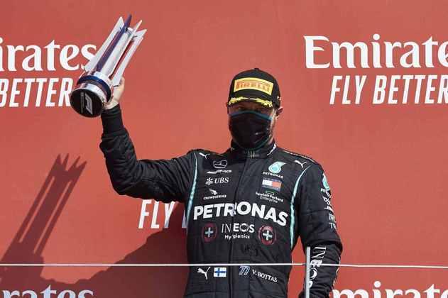Foi o 49º pódio do piloto finlandês na Fórmula 1