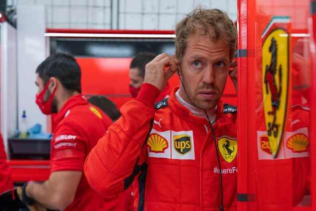 Foi o melhor desempenho da Ferrari em classificações em 2020