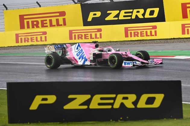 Foi o primeiro pódio de Pérez desde o GP do Azerbaijão de 2018.