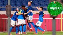 Simone Biles desiste de final, Brasil se classifica no futebol e mais: veja o resumo do dia