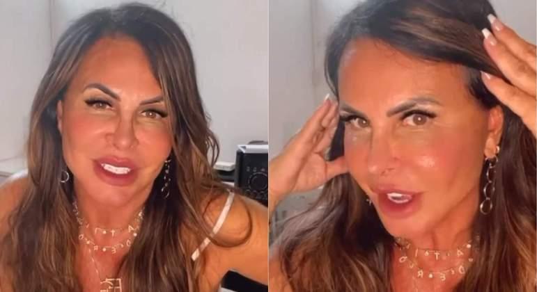 Cantora Gretchen rebate críticas e diz que está muito feliz com a nova  aparência - Cidades - R7 Folha Vitória