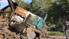 Sobe para 41 o número de mortos em acidente em Taguaí (SP)