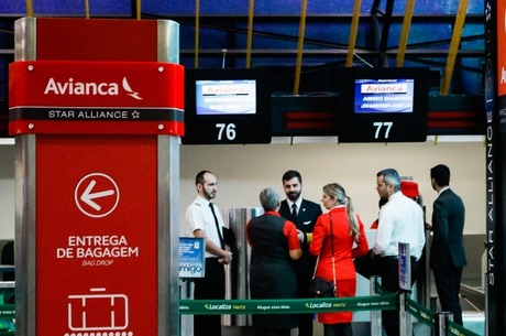 Sindicato divulgou lista de voos paralisados