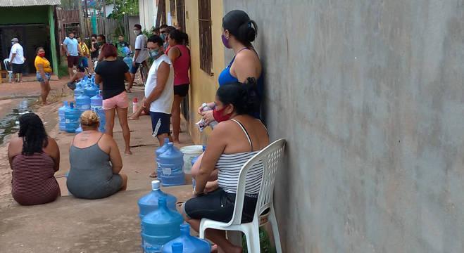 Amapaenses sofrem com desabastecimento de água e outros serviços devido ao apagão