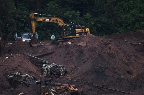 Local atingido pelo rompimento da barragem em Brumadinho