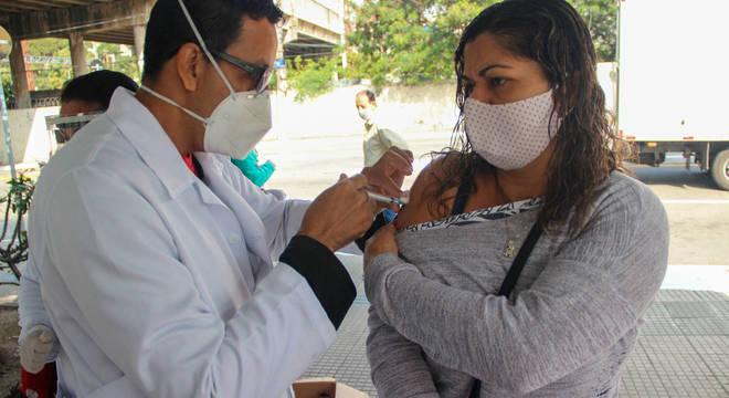 A vacinação contra o sarampo é uma das que não atingiram a meta de cobertura