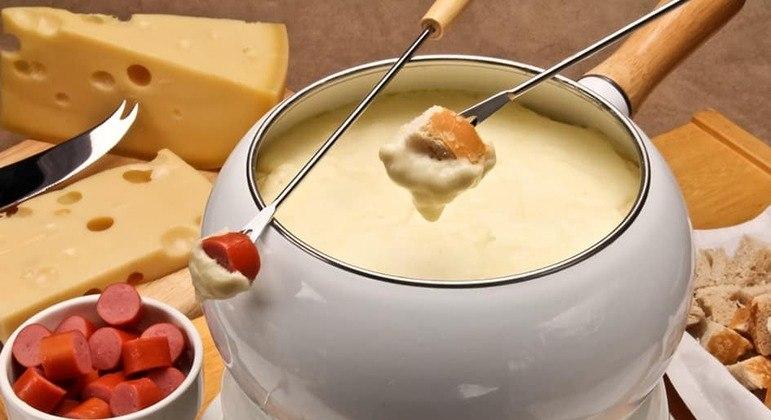 fondue de 2 queijos