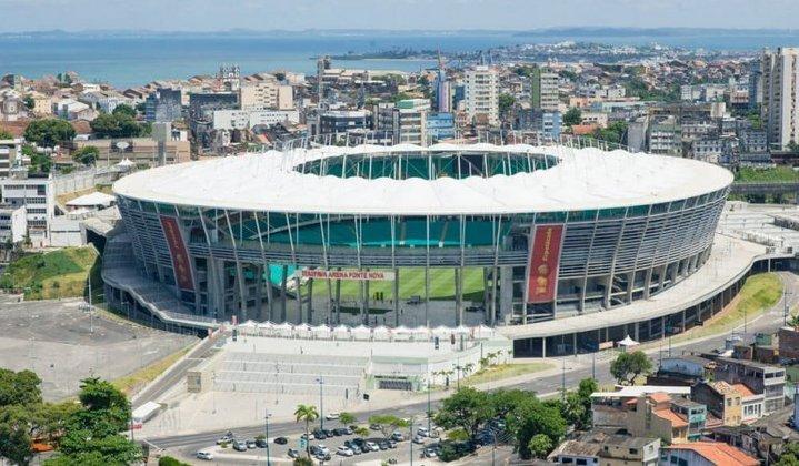 Arena Fonte Nova - Salvador, Brasil - Inscrita para a final da Sul-Americana de 2022 e 2023