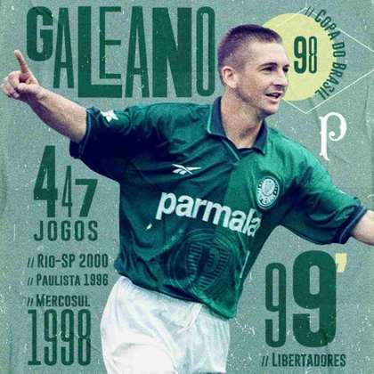 Fora dos gramados, o ex-volante Galeano ocupou cargos no departamento de futebol do Palmeiras no início da década. Em 2016, foi para o Juventude para ser auxiliar técnico de Antonio Carlos no clube gaúcho.
