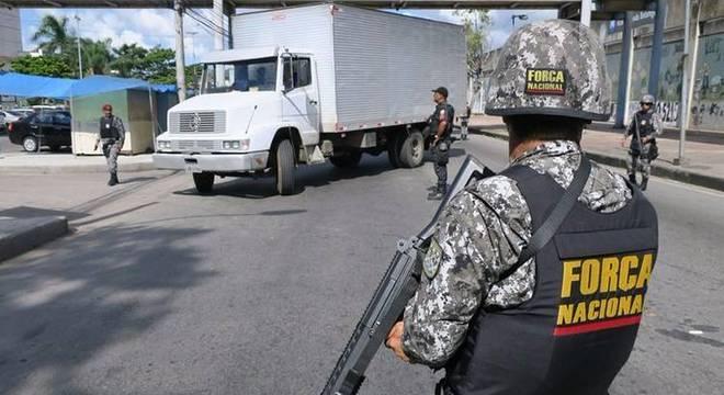 Força Nacional enviou 330 homens para conter crise no Ceará