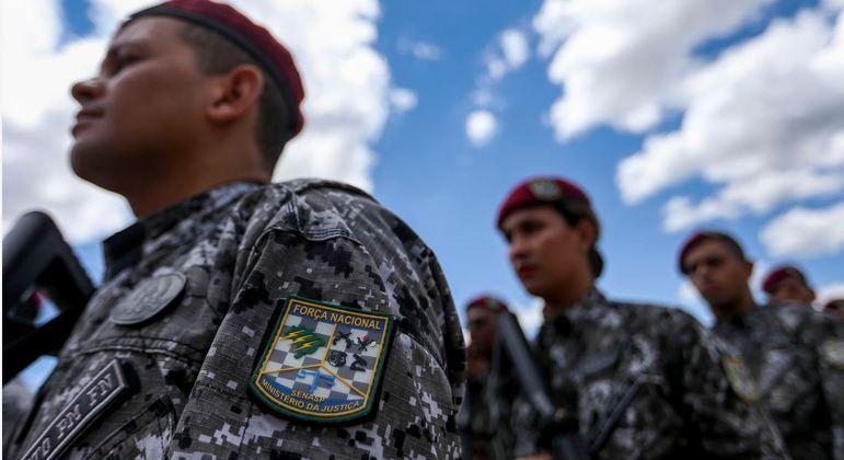 Força Nacional atua em apoio aos órgãos de segurança estaduais
