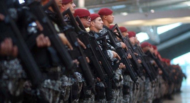 """Efetivo da Força Nacional será empregado para """"preservar a ordem pública"""""""