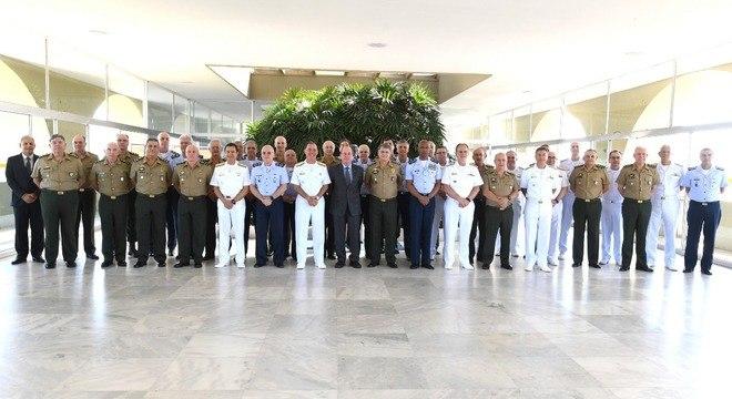 Corte de verba foi anunciado após reunião com as Forças Armadas