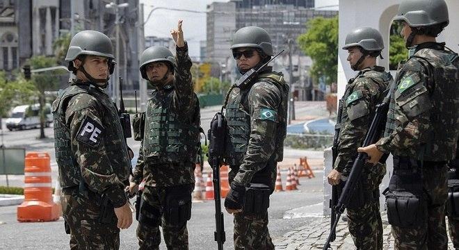 Forças Armadas vão atuar em sete Estados no primeiro turno