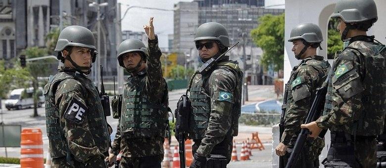 Tropas da Força Nacional de Segurança reforçam segurança em Fortaleza (CE)