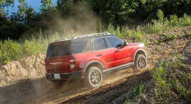 Com tração integral o Bronco Sport tem porte de SUV médio como Compass, Tiguan e Equinox