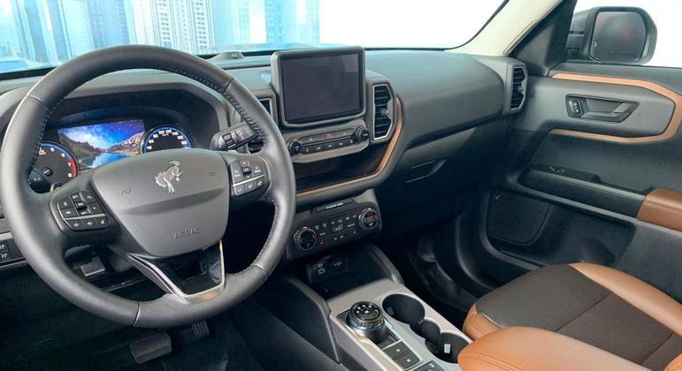 SUV tem multimídia Sync 3 com sistema FordPass