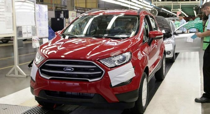 Ford tem enfrentando quedas nas vendas no Brasil