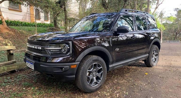 Ford Bronco Sport foi lançado neste ano no Brasil