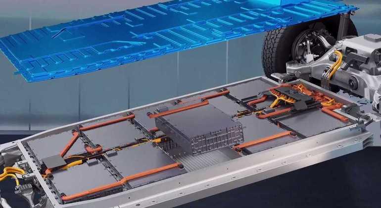 Tudo indica que esse novo sistema possa ter células de baterias com capacidade de 100 Ah