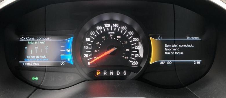 Média de 5,4km/litro no modo empolgado: alto consumo mas dentro do esperado para 335cv