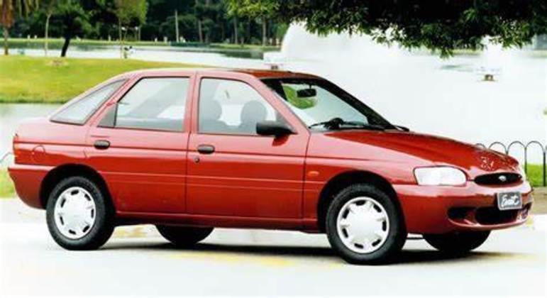 Ford Escort nos anos 1990, quando a marca iniciou um ciclo de renovação de produtos
