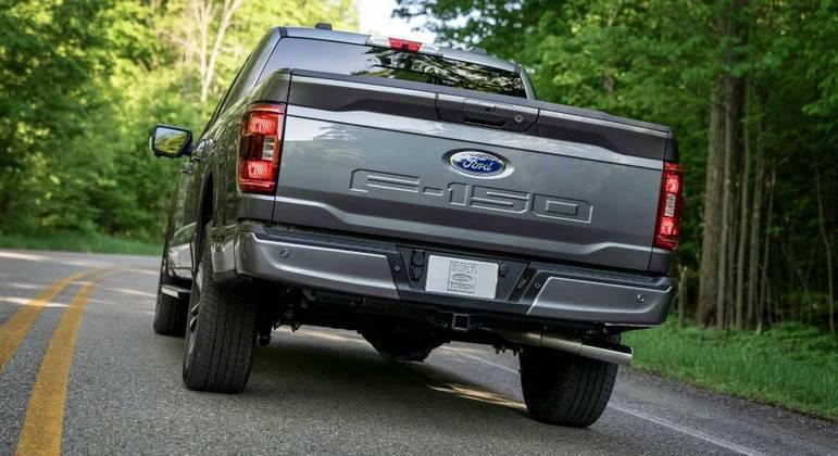 A Ford registrou no INPI (Instituto Nacional da Propriedade Industrial) algumas peças da F-150