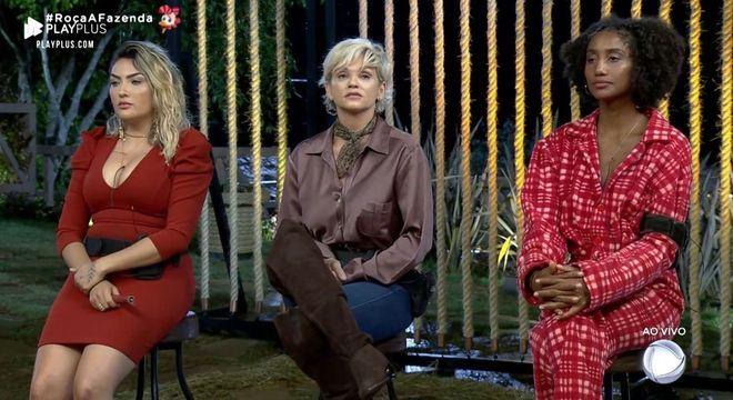 A sétima Roça da temporada foi formada por Thayse, Andréa e Sabrina Paiva