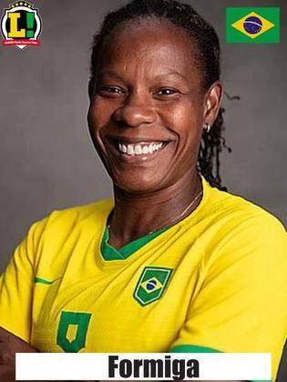Formiga - 6,0 - Jogadora de 43 anos teve atuação discreta no primeiro tempo e deixou a partida no intervalo.