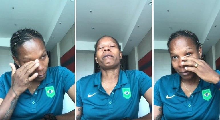 Formiga chora pela primeira vez em uma eliminação do Brasil no futebol