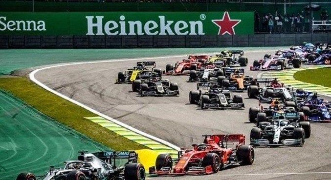 GP do Brasil no autódromo de Interlagos