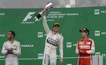 13º - O alemão Nico Rosberg, com 23 vitórias
