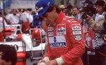 5º - O brasileiro Ayrton Senna, com 41 vitórias