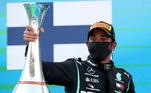 1º -O inglês Lewis Hamilton, com 93 vitórias