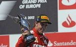 6º - O espanhol Fernando Alonso, com 32 vitórias