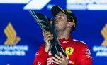 3º - O alemão Sebastian Vettel, com 53 vitórias