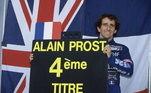 4º - O francês Alain Prost, com 51 vitórias