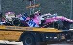 Grande Prêmio da Toscana ficou marcado por dois acidentes que interromperam a corrida e forçou três largadas no total. O safety car também precisou ser acionado no decorrer da prova