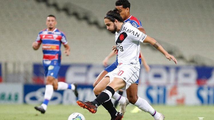 Fortaleza 3 x 0 Vasco - 10/2/2021 - O time atuou mal e foi presa fácil do time cearense.