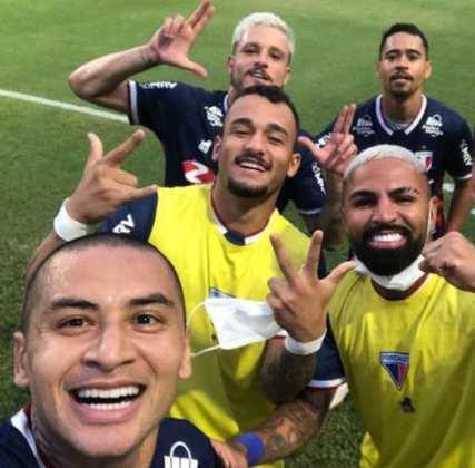 Fortaleza - eliminou o CRB nas oitavas de final