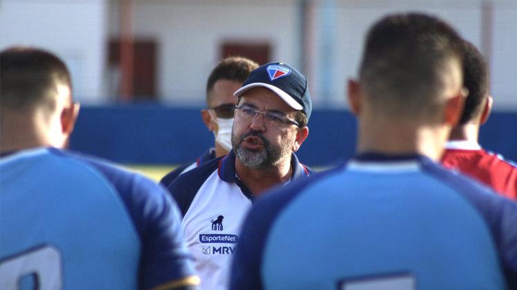 FORTALEZA: Enderson Moreira – no cargo desde janeiro de 2021 / antecessor: Marcelo Chamusca